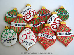 christmas ornaments cookies christmas lights decoration