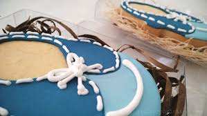 baby for baby shower le shoppe baby shoe cookies for a boy baby shower atelier