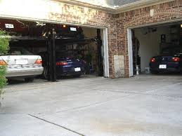 3 car garage door squeezing 3 cars in a 2 car garage page 3 pelican parts