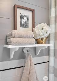 Bathroom Towel Shelves 34 Best Towel Storage Ideas And Designs For 2018