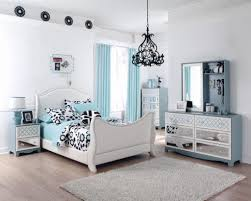 Light Blue Beige White Bedroom With Light Wood Furniture by Bedrooms Medium Bedroom Ideas For Teenage Girls Blue Porcelain