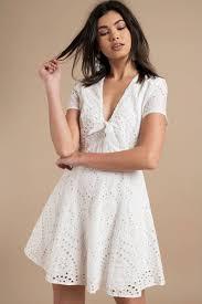 white lace dress eyelet on the prize white lace dress 98 tobi us