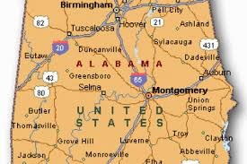 map usa alabama south states road map alabama animated map starts with