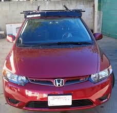 Honda Crv Roof Bars 2007 by Honda Civic Roof Bars Flat Roof Pictures