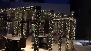 commercial business light installation at pergola st