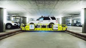 west hollywood u0027s robotic parking garage wired