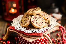 cranberry pistachio shortbread cookies domestically speaking