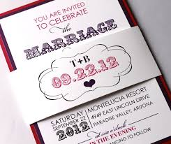 Purple Wedding Invitations Purple Wedding Invitations Bitsy Bride