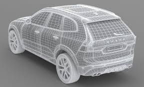 3d volvo xc60 t6 2018 cgtrader