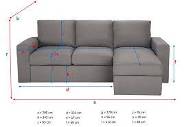 dimension d un canapé ᐅ test et avis du canapé d angle jules de maisons du monde