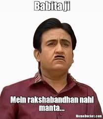 Meme Bucket - babita ji create your own meme