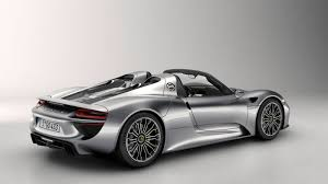 the 887 hp porsche 918 spyder will get 85 to 94 mpg