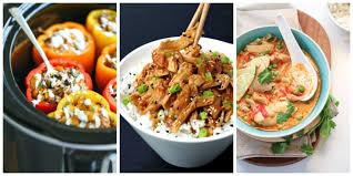 50 healthy crock pot recipes easy light slow cooker dinner ideas