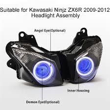 aliexpress com buy kt headlight for kawasaki ninja zx6r zx 6r