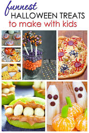 Vegetarian Halloween Appetizers Funnest Halloween Treats To Make With Kids Sarah Titus