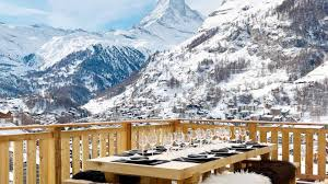 private luxury chalet for rent in zermatt with scenic matterhorn views