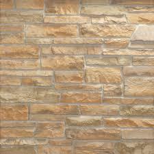 adorn 1 75 in x 6 in desert tan stone veneer siding flats