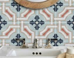 Waterproof Wallpaper For Bathrooms Tile Stickers U0026 Removable Vinyl Wallpaper By Quadrostyle On Etsy