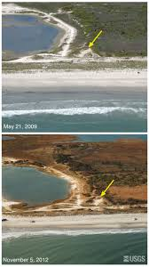 Island Beach State Park Map by Pre And Post Storm Photo Comparisons For New Jersey Hurricane