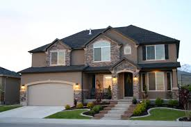 Small 2 Car Garage Homes Cute Two Story Home With Beautiful Front Porch Dream Home Pinterest