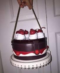 cake purse 398 nwt kate spade ma cherie cherry cake clutch bag purse sold