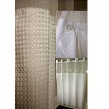 Hotel Shower Curtain With Snap In Liner Ez Hang Shower Curtains Mayfair Hotel Supply