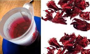 Teh Merah rosella tea lowering cholesterol simultaneously antioxidants