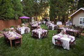 Simple Backyard Wedding Ideas 20 Inexpensive Backyard Wedding Decor Ideas Reception Catering