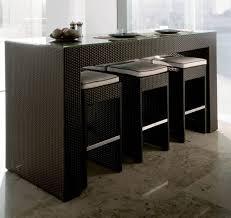 table haute avec tabouret pour cuisine chambre enfant table haute avec tabouret table haute hanley avec