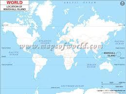 island on map where is marshall islands location of marshall islands