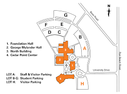 Ohio State Parking Map by Campus Parking Map U0026 Regulations