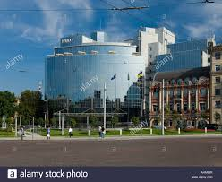 hyatt regency saint sophia hotel in kiev ukraine stock photo