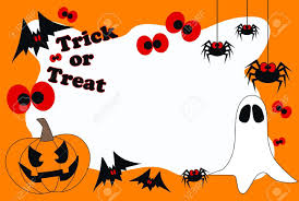 Halloween Banner Clipart by Happy Halloween Trick Or Treat Royalty Free Cliparts Vectors And