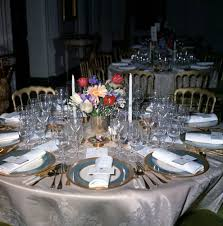 kn c21740 table settings for dinner in honor of minister of state