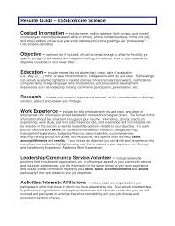 Resume Objective General Statement General Objective For A Resume Template Examples