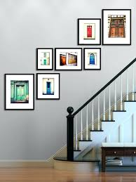 wall ideas wall decor with empty picture frames wall decor