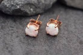 opal earrings stud opal stud earrings gold stud earrings opal earrings