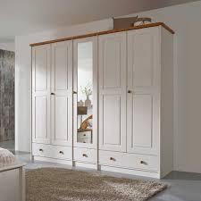 Schlafzimmerschrank Selber Bauen Landhausmöbel Romantischer Kleiderschrank In Weiß Aus Massivholz