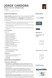 Financial Manager Resume Sample by Operations Manager Resume Samples Visualcv Resume Samples Database