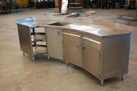 stainless steel kitchen island with seating stainless steel kitchen island with drawers sk cabet stainless steel