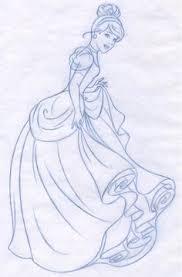 easy cinderella princess drawing step step free download