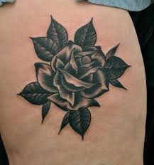 traditional rose tattoo by phil gibbs stand proud tattoo flickr