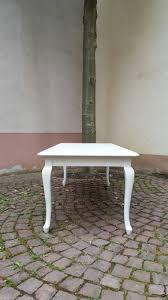 Esszimmer Tisch Vintage Esstisch Shabby Chic Wei Tisch Massiv Wei Esstisch Ausziehbar Wei