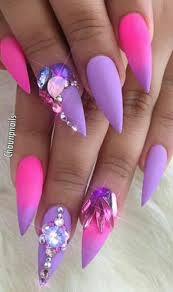 best 20 purple stiletto nails ideas on pinterest acrylic nails