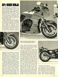 1984 kawasaki gpz 900r ninja road test u2014 ye olde cycle shoppe