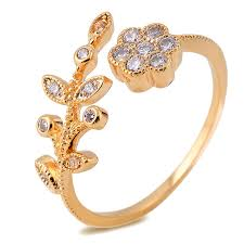 jewelry images rings images Fashion real 18k gold plated created diamond fine jewelry jpg