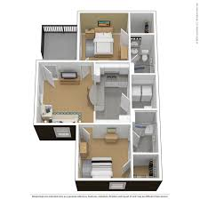 2 Bedroom Floor Plans by Floor Plans Virtual Tours The Courtyards