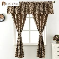 Priscilla Curtains With Attached Valance Curtain Curtains With Attached Valance Sheer Panel Pair Lace