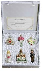 world wedding newlywed ornaments by world