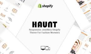haunt free responsive jewellery shopify theme for women u0027s